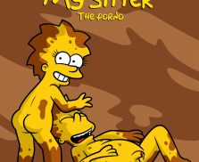 My Sister, My Sitter The porno – The Simpsons [Xierra099]
