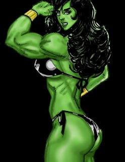 [SuperPoser] Green With Lust – Hulk