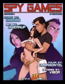 Spy Games Issue 1 – Sexy Comix